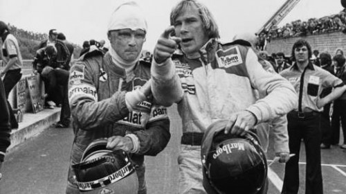 Hunt And Lauda Out